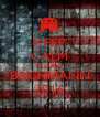 KEEP CALM MICHELE BACHMANN 2016 - Personalised Poster A4 size
