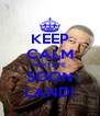 KEEP CALM MIXTAPE SOON LAND! - Personalised Poster A4 size