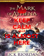 KEEP CALM MoA IS ALMOST HERE - Personalised Poster A4 size