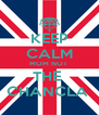 KEEP CALM MOM NOT  THE  CHANCLA  - Personalised Poster A4 size