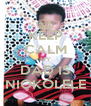 KEEP CALM MY DAD IS NIOKOLELE - Personalised Poster A4 size