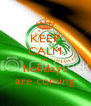 KEEP CALM my holidays are coming - Personalised Poster A4 size