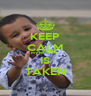 KEEP CALM MY MOMMY IS TAKEN - Personalised Poster A4 size