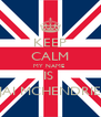 KEEP CALM MY NAME  IS  JAI MCHENDRIE - Personalised Poster A4 size
