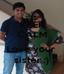 KEEP CALM n  Love your  sister :) - Personalised Poster A4 size