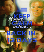 KEEP CALM NCIS IS BACK IN  13 DAYS - Personalised Poster A4 size