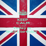 KEEP CALM no, panik  Today is   Brad's birthday !! - Personalised Poster A4 size