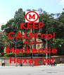 KEEP CALM no! #partiu Mackenzie Hexag \o/ - Personalised Poster A4 size