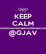 KEEP CALM #noisiamoscienzaenonfantascienza @GJAV  - Personalised Poster A4 size