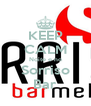 KEEP CALM Noite e no Sorriso Bar - Personalised Poster A4 size