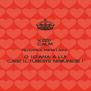 KEEP CALM NU ORICE MIHAI ARE O IOANA A LUI CARE IL IUBESTE NEBUNESE ! - Personalised Poster A4 size