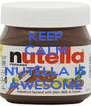 KEEP CALM  NUTELLA IS AWESOME - Personalised Poster A4 size