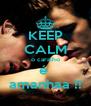 KEEP CALM o caralho é  amanhaa !! - Personalised Poster A4 size