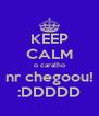 KEEP CALM o caralho nr chegoou! :DDDDD - Personalised Poster A4 size