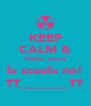 KEEP CALM & Oddio, ancora la scuola no! TT_______TT - Personalised Poster A4 size