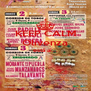 KEEP CALM Olivenza está ai...   - Personalised Poster A4 size