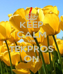 KEEP CALM ON TEKPROS ON - Personalised Poster A4 size