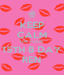 KEEP CALM ON YOUR 15TH B DAY REN - Personalised Poster A4 size