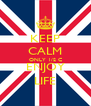 KEEP CALM ONLY 1/2 C ENJOY LIFE - Personalised Poster A4 size