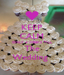 KEEP CALM ONLY 4 WEEKS TILL The Wedding  - Personalised Poster A4 size