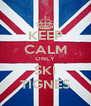KEEP CALM ONLY SKI TIGNES - Personalised Poster A4 size