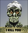 KEEP CALM OR I Kill You! - Personalised Poster A4 size