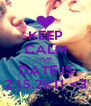 KEEP CALM OUR DATE IS 2.15.2K11 <3 - Personalised Poster A4 size
