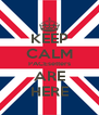 KEEP CALM PACEsetters ARE HERE - Personalised Poster A4 size
