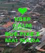 KEEP CALM PARDILHÓ É BUE FIXE E MAI NADA - Personalised Poster A4 size