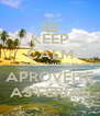 KEEP CALM PAULO VIANA APROVEITE AS FÉRIAS - Personalised Poster A4 size
