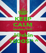 KEEP CALM $peddie $till J@ckin  100G$^^ - Personalised Poster A4 size