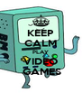 KEEP CALM PLAY VIDEO  GAMES - Personalised Poster A4 size