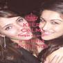 KEEP CALM Porque eu amo a minha irmã linda - Personalised Poster A4 size