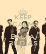 KEEP CALM PORQUE FALTA 35 DIAS - Personalised Poster A4 size