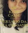 KEEP CALM PORQUE O ANIVERSÁRIO DA MIRA ESTÁ CHEGANDO - Personalised Poster A4 size