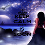 KEEP CALM PROM IS  SOON - Personalised Poster A4 size