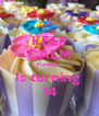KEEP CALM Purnima  Is turning  14 - Personalised Poster A4 size
