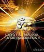 KEEP CALM QUE A CRYSTAL MATRIX TÁ DE PARABENS !! - Personalised Poster A4 size