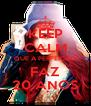 KEEP CALM QUE A PERFEIÇÃO FAZ 20 ANOS - Personalised Poster A4 size