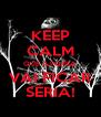 KEEP CALM QUE A PORRA VAI FICAR SÉRIA! - Personalised Poster A4 size