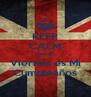 KEEP CALM Que el  Viernes es Mi Cumpleaños - Personalised Poster A4 size
