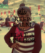 KEEP CALM QUE ELA É A MELHOR - Personalised Poster A4 size