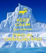KEEP CALM que está um FRIO do CARALHO PAH - Personalised Poster A4 size