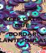 KEEP CALM QUE  ESTOU A  BORDAR LANTEJOULAS - Personalised Poster A4 size