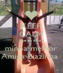 KEEP CALM Que eu amo a minha melhor Amiga Biazinha  - Personalised Poster A4 size
