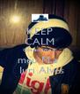 KEEP CALM Que eu amo o meu M.a   Iuri Alves - Personalised Poster A4 size