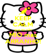 KEEP CALM que eu não MIO mas ARRANHO! - Personalised Poster A4 size