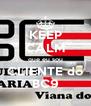 KEEP CALM que eu sou CLIENTE do BC9 - Personalised Poster A4 size