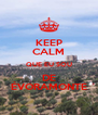 KEEP CALM QUE EU SOU DE ÉVORAMONTE - Personalised Poster A4 size