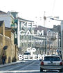 KEEP CALM que eu sou  de BELEM - Personalised Poster A4 size